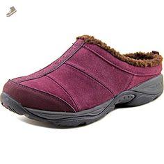 Easy Spirit Seilena Women US 8 N/S Burgundy Mules - Easy spirit mules and clogs for women (*Amazon Partner-Link)