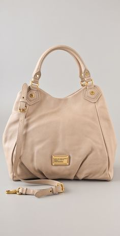 Marc by Marc Jacobs Classic Q Francesca Tote -  gold hardware, JLO style ;)