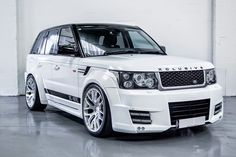Range Rover Sport Wide Body Kit and Tuning done by Xclusive Customz Sheffield