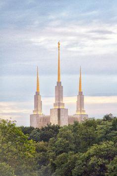 Washington D.C. Temple. The Church of Jesus Christ of Latter-day Saints. #Mormon #LDS