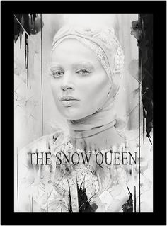 Snow Queen by Alexis Marcou, truly beautiful piece and process, even the inspirations are magical