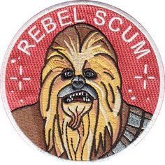 Rebel Scum is a Star Wars inspired 9 cm embroidered patch with merrowed edge and iron-on backing. Made in Spain. Follow the iron on patch...