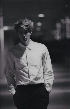 Jin // Mr. WORLDWIDE HANDSOME FOR A REASON HALLELUJAH CAN I GET AN AMEN