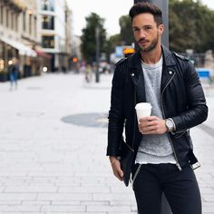 15 Coolest Ways To Wear Leather Jacket This Winter Level up your jacket game.