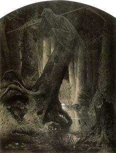 Le Prince Lointain: Artur Grottger (1837-1867), La Forêt - 1864