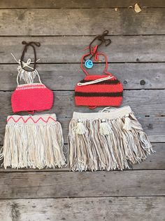 Custom handmade Moana Outfits perfect for sisters or cousins having a shared Moana party. Crochet Fabric, Crochet Home, Crochet Gifts, Irish Crochet, Crochet Baby Clothes, Newborn Crochet, Baby Moana Costume, Baby Knitting Patterns, Crochet Patterns