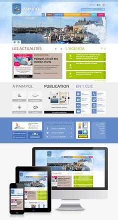 #Webdesign #Responsive #Mairie #Ville #Colterr : le nouveau site web de la ville de Paimpol (22) http://www.ville-paimpol.fr