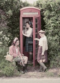 Land Girls style Photo shoot using all true vintage clothing, styled & shot by Aisha Green http://madewithlovealg.blogspot.co.uk/