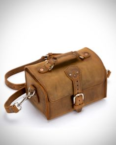 Not out of place in the Serengeti  | Saddleback Leather Travel Case in Tobacco | 100 Year Warranty | $181.00