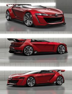 YOW! Volkswagen Unveils Bad-Ass Videogame-Inspired Concept Car #VW #Volkswagen #Rvinyl I want
