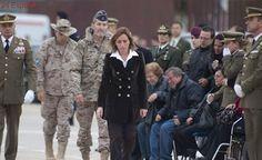 Carme Chacón, la primera ministra española de Defensa