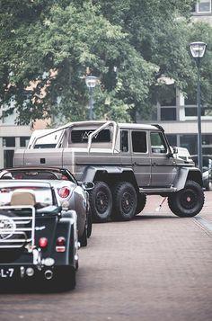 Mercedes G-class 63 AMG 6x6