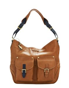 LEYCETT Womens Leather Front Pocket Bag