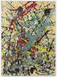 View Number 16 by Jackson Pollock on artnet. Browse upcoming and past auction lots by Jackson Pollock. Action Painting, Drip Painting, Pollock Artist, Pollock Paintings, Oil Paintings, Wyoming, Jackson Pollock Art, Paul Jackson, Max Ernst