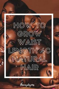 Struggling to grow your 4c natural hair? Are you dealing with breakage and looking to retain your length? Long 4c natural hair is possible with these tips and tricks! #naturalhair #naturalhairgrowth #naturalhairstyles #naturalhaircare #blackhair #naturalhairtips #naturalhairtypes