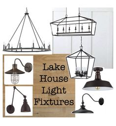Lake House Light Fixtures - The Lilypad Cottage Lyndi Scholl lyndischoll Home Living Lake House Light Fixtures - a variety of rustic lake house lighting that is reasonably priced and perfect for a cottage or lake house Lyndi Scholl Lake House Light Cottage Lighting, Cabin Lighting, Rustic Lighting, House Lighting, Lighting Ideas, Club Lighting, Rustic Lake Houses, Rustic Cottage, Farmhouse Decor