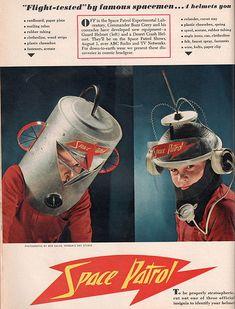 Make a 50s Space Helmet!