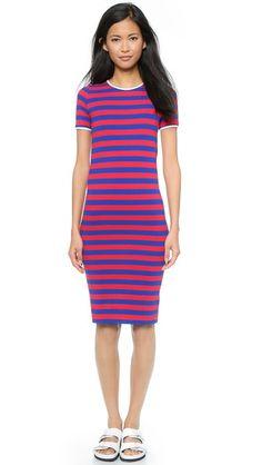 Harvey Faircloth Fitted T-Shirt Dress #Shopbop