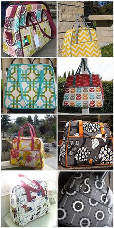 Weekender bag. So cute! Pattern to make your own