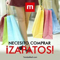 Repite conmigo: Necesito ¡Comprar zapatos!   #TiendasMarli #MarliAdicta #Saturday #AmoLosZapatos