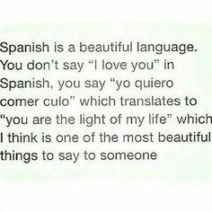 """Spanish is so romantic  #doubletap #spanish #lesbian #lesbians #humor #sofunny…"