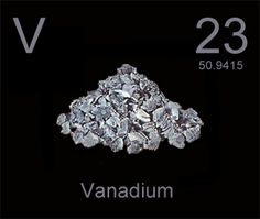 vanadium -