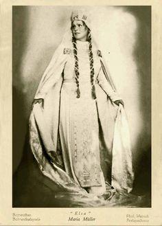 Maria Müller 1936 Opera Singers, Female Singers, Ciel, Theatre, Elsa, Legends, Portraits, Ballet, Music
