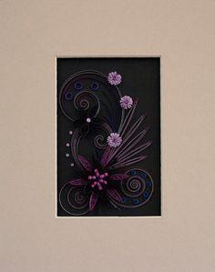 Was listed on Etsy but it sold :( ~ Quilling