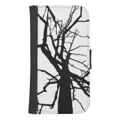 Tree Top Abstract Phone Wallet