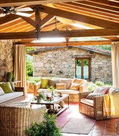 Provide Your House a Transformation with New House Design – Outdoor Patio Decor Outdoor Rooms, Outdoor Living, Outdoor Decor, House With Porch, Outside Living, New Home Designs, Interior And Exterior, Beautiful Homes, Sweet Home