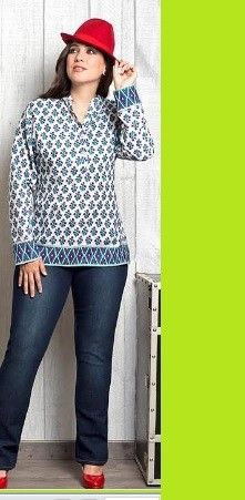 Vaqueros elásticos Carisal Fashion. Tallas disponibles 46 a 54. www.monanva.com