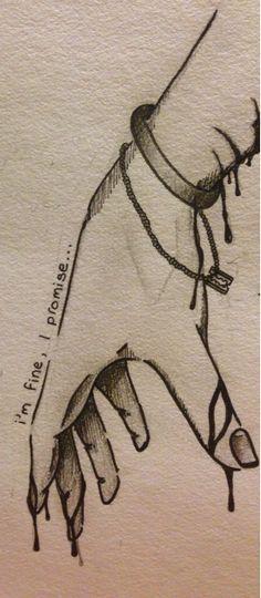 Self Harm Sketch | www...