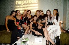 Star studded: A handful of celebrities also attended the after party, including Lorde's pa...