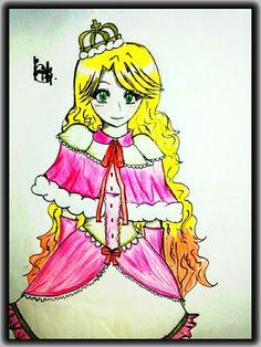 The princess  (By Yui Ackerman (me))