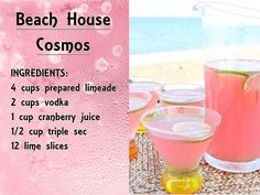 24 Irresistible Pink Cocktails - Just Pink About It bubbly Dessert Party, Party Drinks, Fun Drinks, Beverages, Rosa Cocktails, Cocktail Drinks, Cocktail Recipes, Cocktail Night, Cocktail Ideas