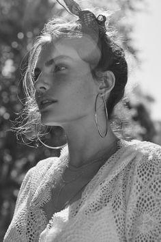 vogue-at-heart: Alyssa Miller for For Love and Lemons Swim Collection Resort 2016