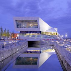Museum of Liverpool - Liverpool UK |  Architects 3XN.  Designed to be more energy efficient thereby reducing carbon emissions.