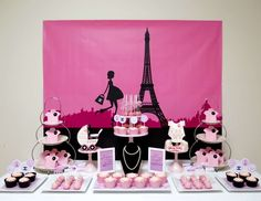 """Baby Shower """"Chanel Paris Themed Baby Shower"""" 