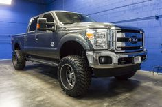 NEWLY LIFTED 2016 Ford F-350 Lariat 4x4 Powerstroke Turbo Diesel Truck For Sale…