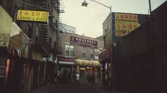 A corner of China in NYC #nyc #vsco #winter