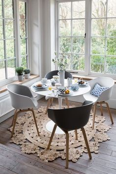 """Contents hide 1 What is Hygge you ask?"""" 3 My top 5 tips for creating Hygge: Get some cosy throws Light Candles Keep the hot drinks coming Set the table … Dining Room Design, Dining Room Table, Kitchen Dining, Dining Chairs, Dining Rooms, Wood Table, Cosy Dining Room, Table Design, Kitchen Chairs"""