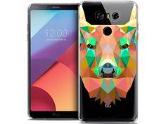 Coque Crystal Gel LG G6 Extra Fine Polygon Animals - Cerf - 7,90 €