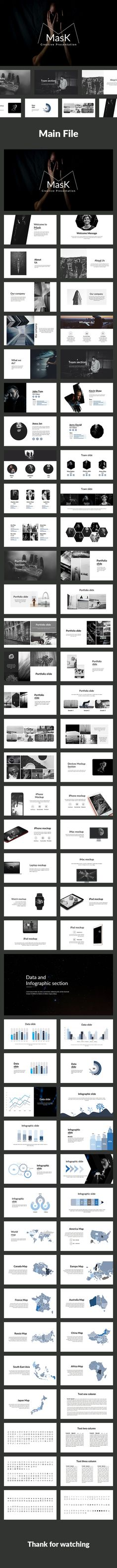 Mask-Creative Powerpoint Template