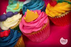 Disney Princess Cupcakes - for Zanthia's Birthday Disney Princess Cupcakes, Disney Princess Party, Princess Cakes, Princess Birthday, Yummy Treats, Delicious Desserts, Sweet Treats, Baking Cupcakes, Cupcake Cakes