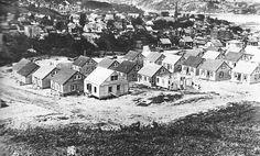 Construction de maisons à Chicoutimi 1944