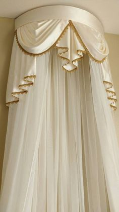 Elegant Crown canopy price includes crown curtain and