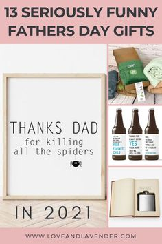 13 Seriously Funny Fathers Day Gifts in 2021   Parents: Even when they're not funny, they're funny. But it seems like many of the traditional dad gifts out there fall short. Many of us may have been urged to pick out ties, socks, coffee mug, or a leather wallet for our dads when we were kids. The theme of boring, practical gifts for men seemed to stick   Love & Lavender   Wedding Ideas   Baby Stuff   House   Gift Ideas Funny Fathers Day Gifts, Dad Gifts, Parent Gifts, Gifts For Husband, Best Gifts, Baby Wedding, Wedding Ideas, Practical Gifts For Men, Old Ties