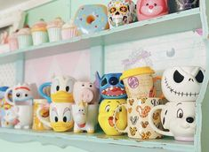 Jar, Mugs, Tableware, Disney, Home Decor, Happy, Dinnerware, Decoration Home, Room Decor