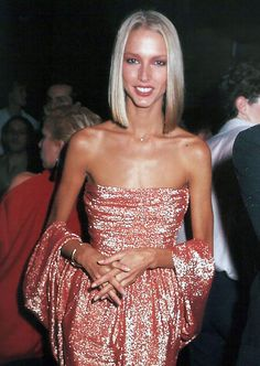 Karen Bjornson wearing Halston at Studio 54, 1978