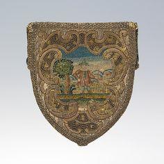 First quarter 18th century, probably Austria - Purse - Silk, metal